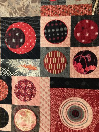 quilt with asian fabrics
