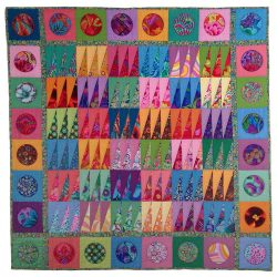 Cheerful Baby Quilt